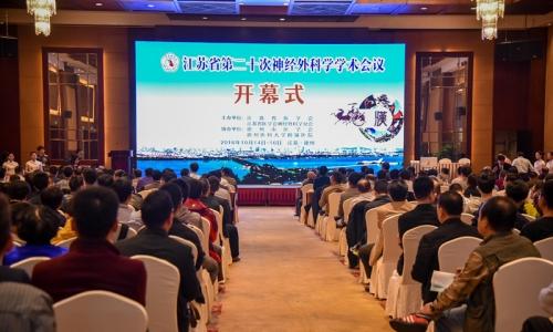 徐医附院承办省第二十次神经外科学学术会议